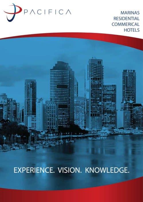 Corporate profile designed for Pacifica Developments