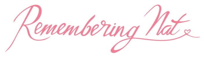 The Remembering Nat font is handwritten