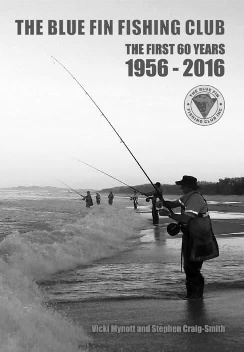Blue Fin Fishing Club book design
