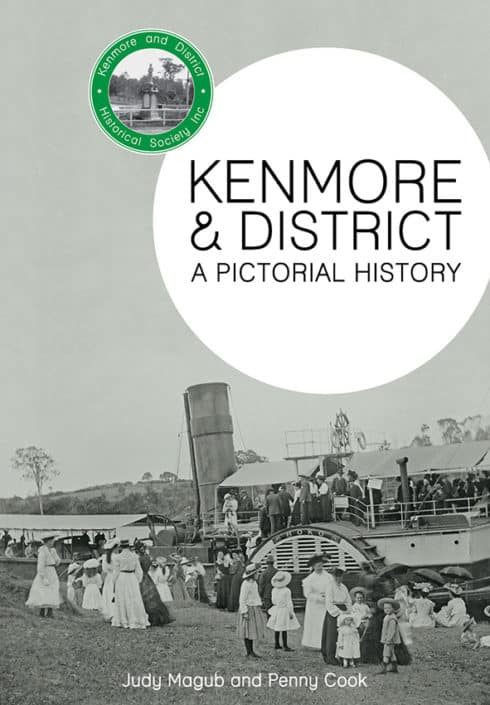Book cover design for Kenmore & District Historical Society's first publication