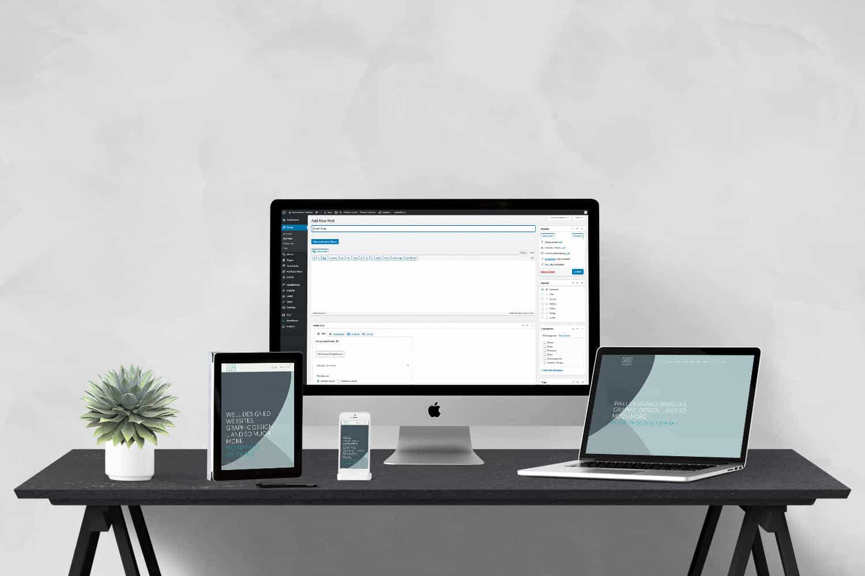 Wordpress website design by Moonstone Creative Brisbane